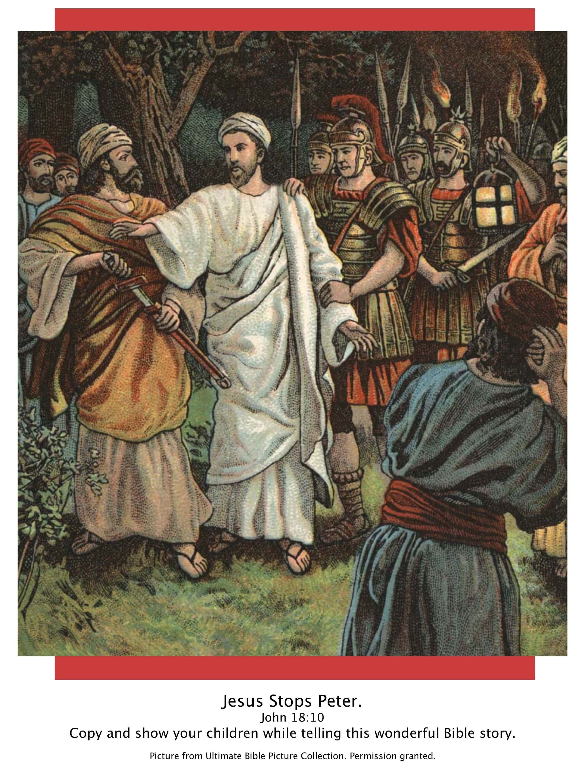 Bible Story Pictures: Jesus in the Garden of Gethsemane - The ...