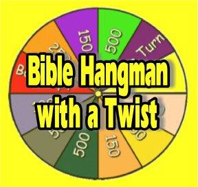 Scripture lady s bible review games bible hangman with a twist