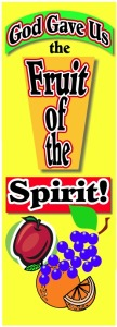 Fruit of Spirit Small Banner