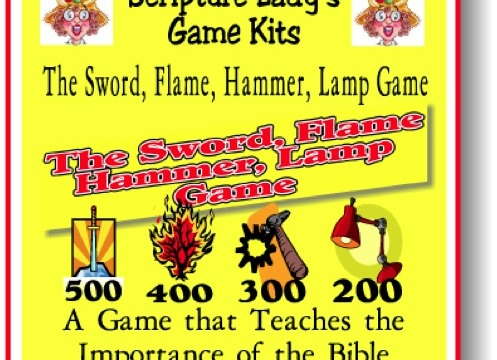 Sword Flame Game Kit Pic New