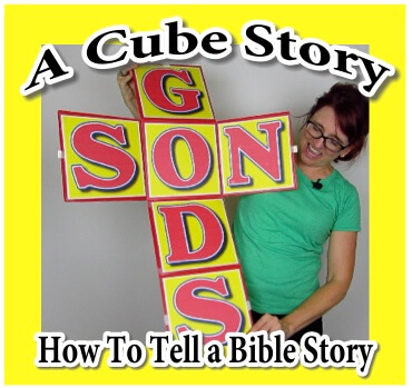 "How to Tell Bible Stories – ""The Cube Story"" Presented by The Scripture Lady"