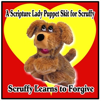 Darcie Maze's Puppet Scruffy: Scruffy Learns to Forgive – A LIVE Performance