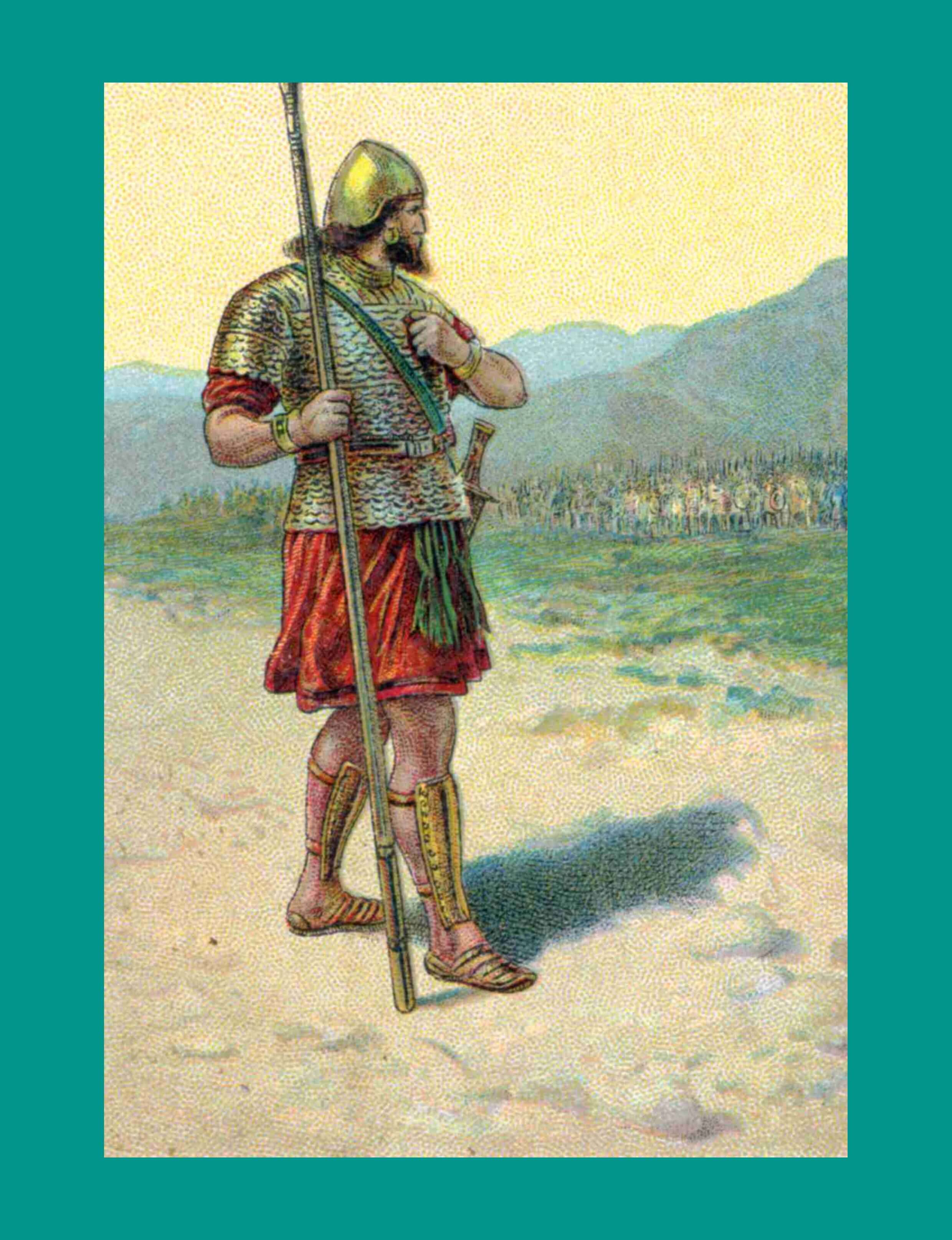 Bible Story Pictures for David and Goliath - from The ...