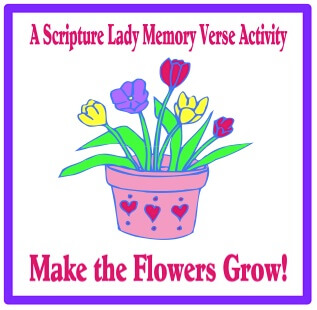Make the Flowers Grow – A Fun Bible Memory Verse Game for Spring