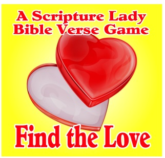 Find the Love – A Fun Scripture Game Showcasing Bible Verses About Love