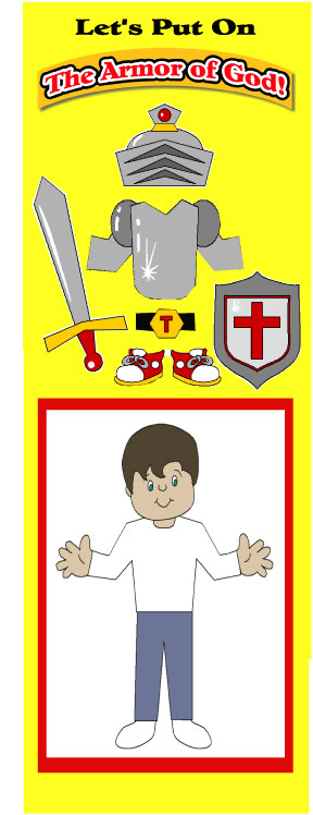 Scripture Lady's Bible Song Program: The Armor of God