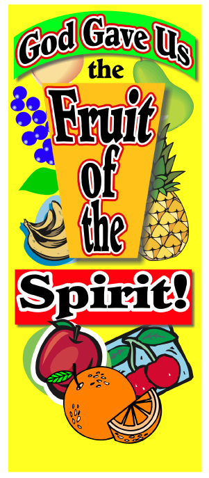 Scripture Lady's Bible Song Program: The Fruit of the Spirit