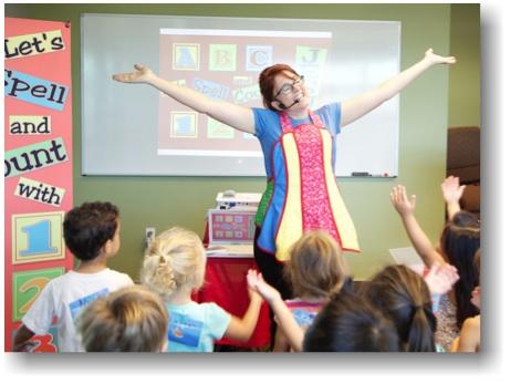 Scripture Lady's Preschool Bible Song Programs