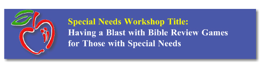 Workshop Button: SPED Bible Review Games