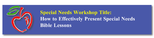 Workshop Button: SPED Bible Lessons