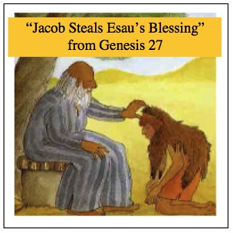 5 W Questions For Genesis 27 Jacob Steals Esau S Blessing