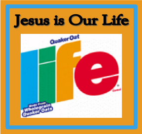 Bible Object Lessons for Kids - Jesus is Our Life