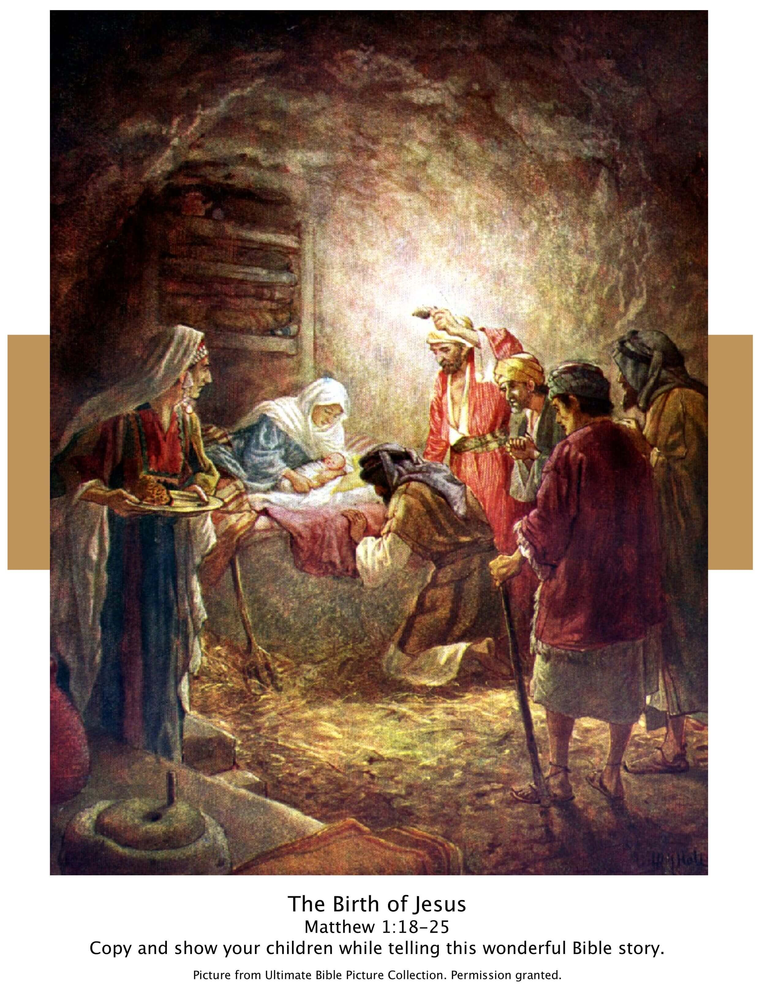 Scripture Lady's Bible Story Pictures Library