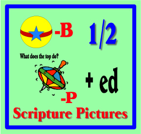 Scripture Lady's Free Scripture Pictures – Rebus Bible Verses for Kids