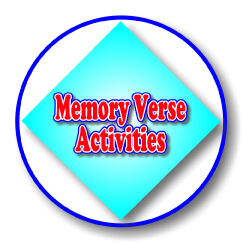 Scripture Lady's Free Memory Verse Activities for Preschoolers