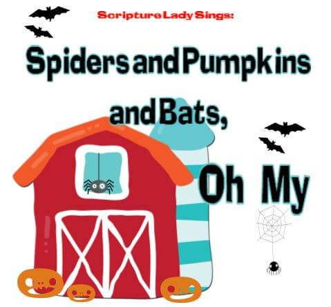 Spiders and Pumpkins and Bats, Oh My! Preschool Chapel