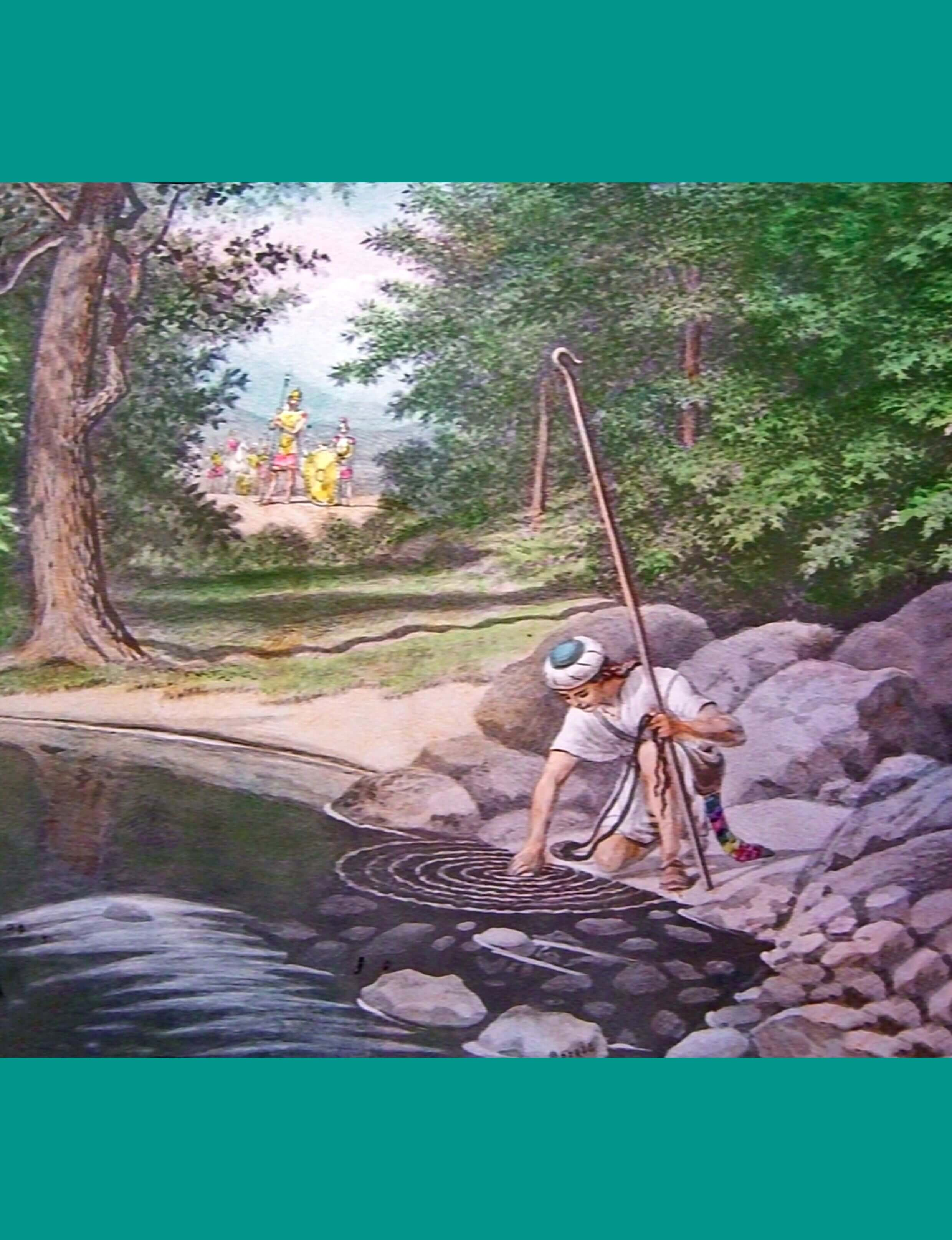 Bible Story Pictures for David and Goliath: A Scripture ...