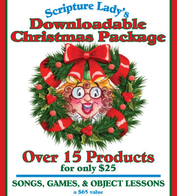The Scripture Lady's Downloadable Christmas Package