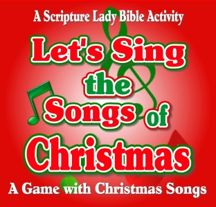 A Christmas Songs Game for Children's Church by The Scripture Lady