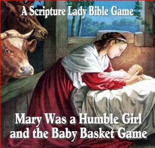Mary Was a Humble Girl: A Christmas Bible Game for Elementary Kids