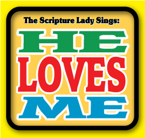 He Loves Me Bible Song Based on Zephaniah 3:17 by The Scripture Lady