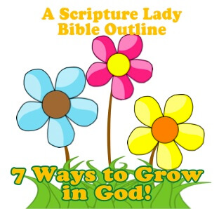 Teach 7 Ways God Wants Your Kids to Grow: A Bible Outline Printable