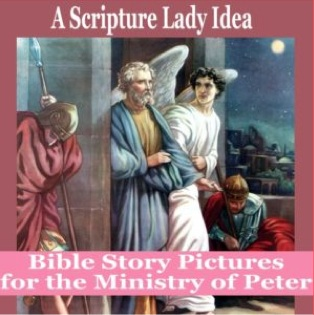 Bible Story Pictures for the Ministry of Peter