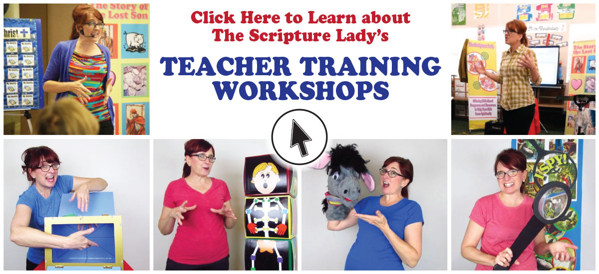 The Scripture Lady's Teacher Training Workshops