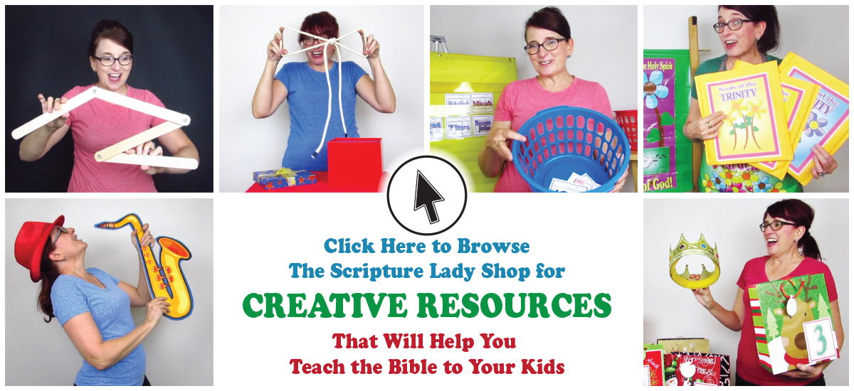 The Scripture Lady's Creative Resources