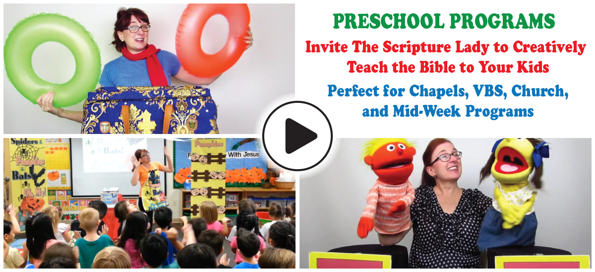 The Scripture Lady's Preschool Bible Programs