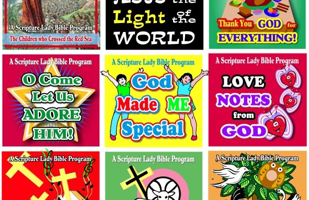 The Scripture Lady's Preschool Chapel Line up for 2019-20