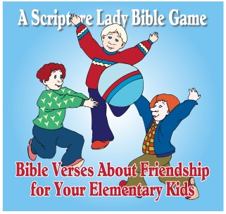 Bible Verses About Friendship for Elementary Kids