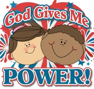 God Gives Me Power: A Scripture Lady Bible Time Program