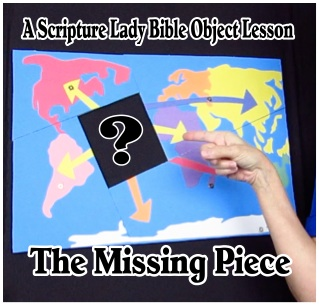 The Missing Piece Bible Object Lesson Based on Acts 1:8