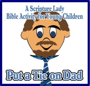 A Father's Day Bible Activity for Young Children