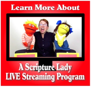 Introducing LIVE Streaming Bible Programs with The Scripture Lady