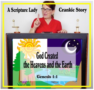 A Crankie Bible Story for Creation by The Scripture Lady