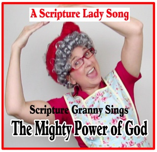 The Mighty Power of God Bible Hymn for Kids Sung by Scripture Granny