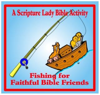Fishing for Faithful Bible Friends – A Preschool Bible Game